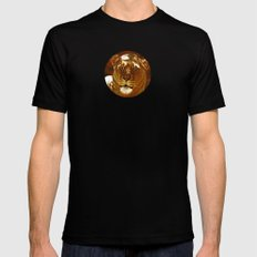 Red Lion Mens Fitted Tee Black SMALL