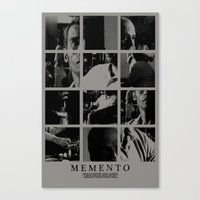 Memento Movie Poster Canvas Print