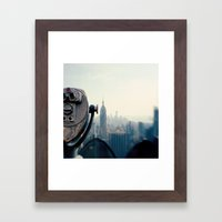 Empire State Building NY… Framed Art Print