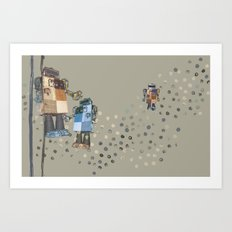 Robotics 2 Art Print