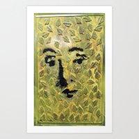 GREEN VENUS Art Print