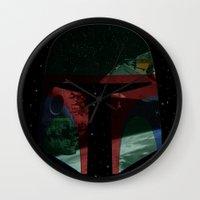 Star Explorer  Wall Clock
