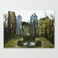 Rittenhouse Square In Th… Canvas Print