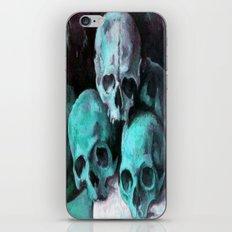 Haunted Halloween Pyramid of Skulls  iPhone & iPod Skin