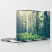 forest Laptop & iPad Skins featuring Inner Peace by Olivia Joy StClaire