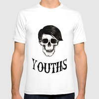 Youths Mens Fitted Tee White SMALL