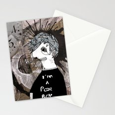 Poor boy Stationery Cards