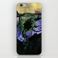 Deconstruction and Growth iPhone & iPod Skin