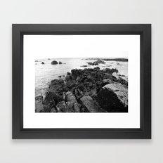 Galway bay Framed Art Print