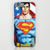 iPhone & iPod Case featuring Man of Steel by Dave Franciosa