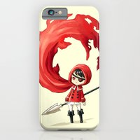 iPhone & iPod Case featuring Red Cape by Freeminds