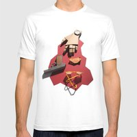 Dillinger Mens Fitted Tee White SMALL