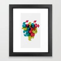 Geomexplosion Framed Art Print