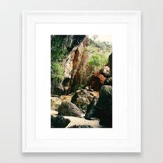Railay Beach TH - Trail I Framed Art Print