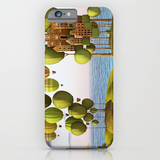 City in the Sky_Lanscape Format iPhone & iPod Case