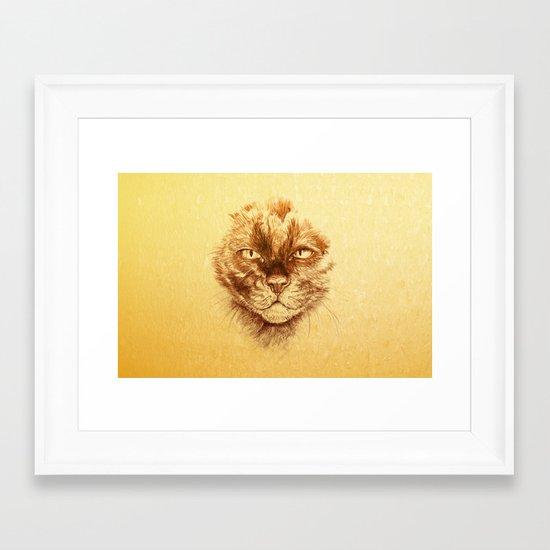 KITTEE Framed Art Print