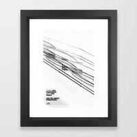 The Love Series 200 Whit… Framed Art Print