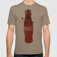 Dalek-Cola Mens Fitted Tee Tri-Coffee SMALL