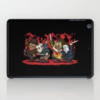 Where the Slashers Are (Full Color) iPad Case