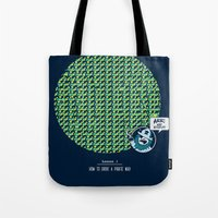 How to Drive a Pirate Mad Tote Bag