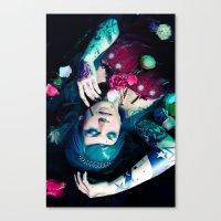 Bloom to fall apart Nr.1 Canvas Print