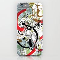 iPhone & iPod Case featuring abstract by Irmak Akcadogan