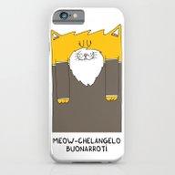 Meow-chelangelo Buonarro… iPhone 6 Slim Case