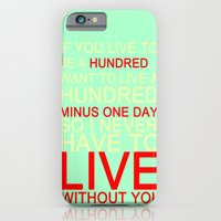quotes iPhone & iPod Cases featuring quotes by kawaiicookie