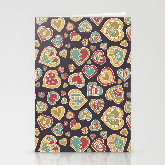 I Heart Doodling Stationery Card