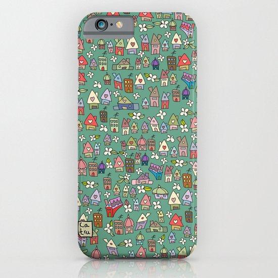 Houses - eco iPhone & iPod Case