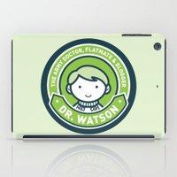 Cute John Watson - Green iPad Case