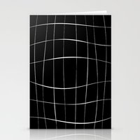 Black Squares Stationery Cards