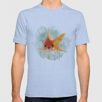 Goldfish Mens Fitted Tee Athletic Blue SMALL