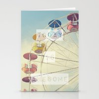 Today is Awesome Stationery Cards