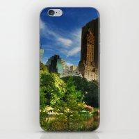Central Park Fantasy Land iPhone & iPod Skin