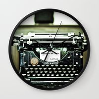 You don't write anymore... Wall Clock