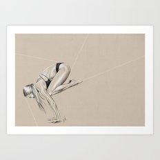 Yoga 1 Art Print