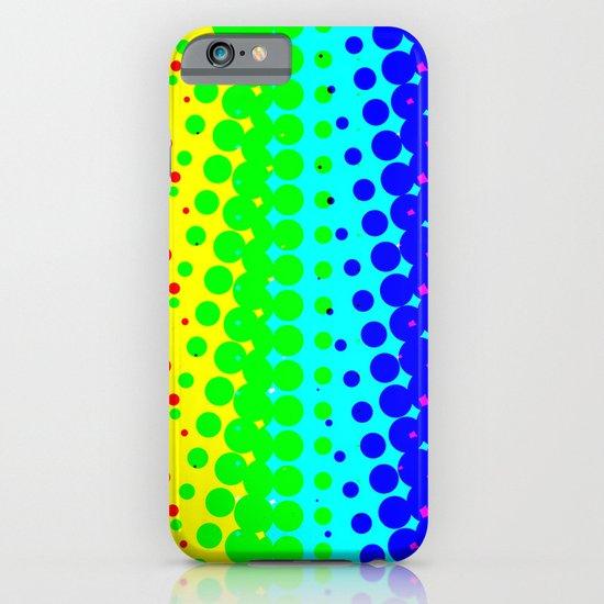RAINBOW COLOR DOT iPhone & iPod Case