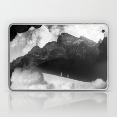 State of black and white isolation Laptop & iPad Skin