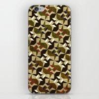 Retro Pattern iPhone & iPod Skin