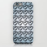 iPhone & iPod Case featuring Rows of Flowers, Sky by Noelle Tru's Mom