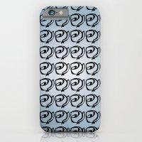 Rows Of Flowers, Sky iPhone 6 Slim Case