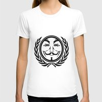 community T-shirts featuring Anonymous community by Komrod
