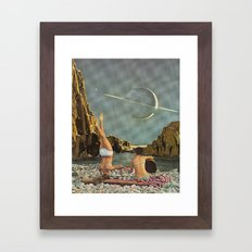 Serenade to Saturn Framed Art Print