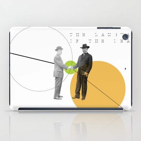 The Language of the Deal iPad Case