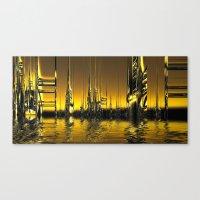 Futurescape Canvas Print