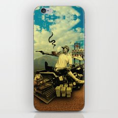 Hunter S iPhone & iPod Skin
