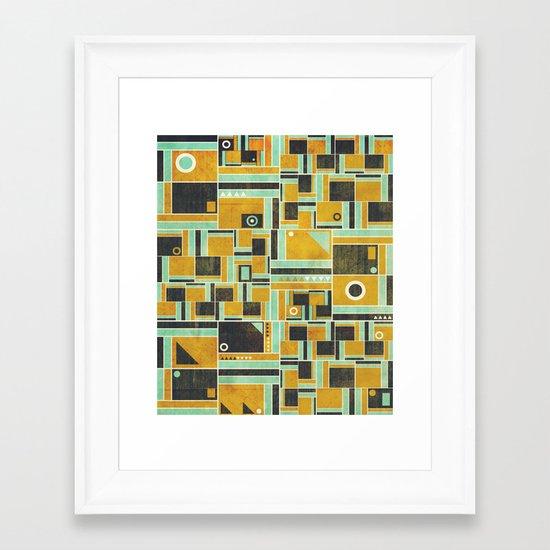 Levels Framed Art Print