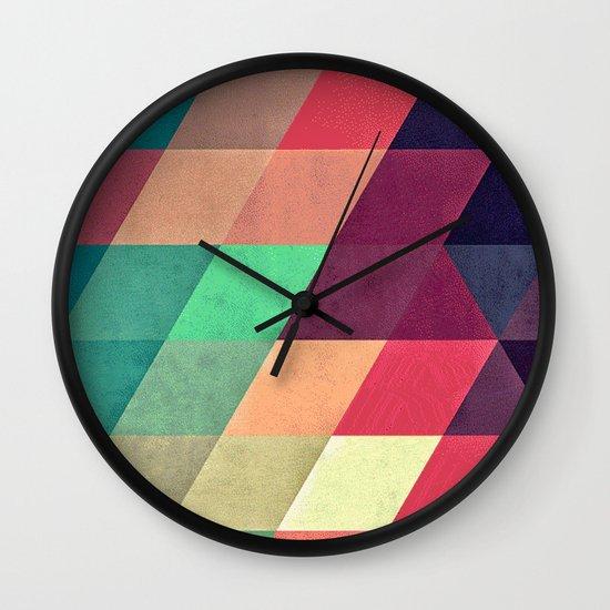 xy tyrquyss Wall Clock