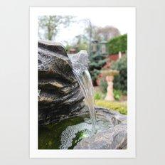 The British waterfall Art Print
